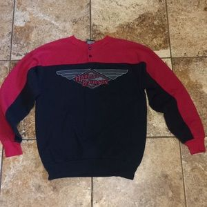 Harley Davidson Ladies Sweatshirt Extra Large